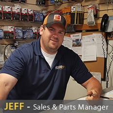 Parts and Sales Manager
